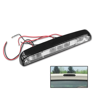 Ford F150 F250 F350 92-96 Led 3RD Clear Car Third Brake Stop Luces traseras Lámparas